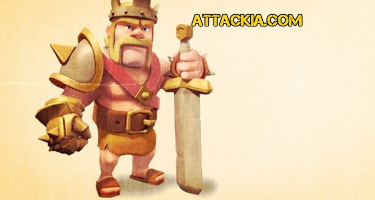 Barbarian King Iron Fist - A Key to Victory - Clash of Clans