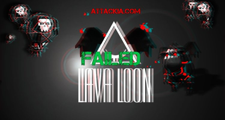 Quatro LavaLoon vs TH9 failed Clash of Clans
