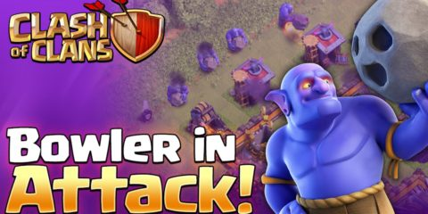 Bowler Attack Strategy Clash of Clans Town Hall 9