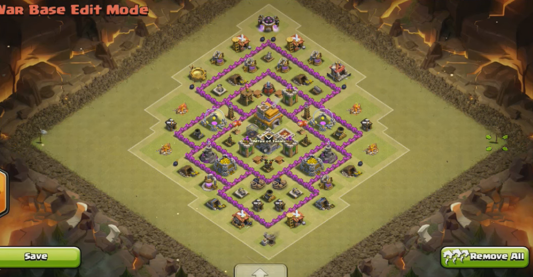 TH7 War Base Layout