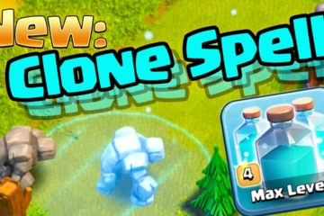 Clash of Clans Clone Spell