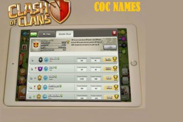 Clash of Clan Names