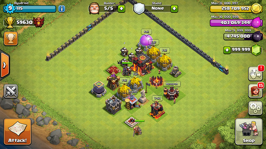 COC Private Server Bluestacks