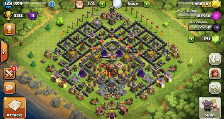 Clash of Clans Account for Sale 2016