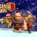Clash of Clans Christmas Wallpaper