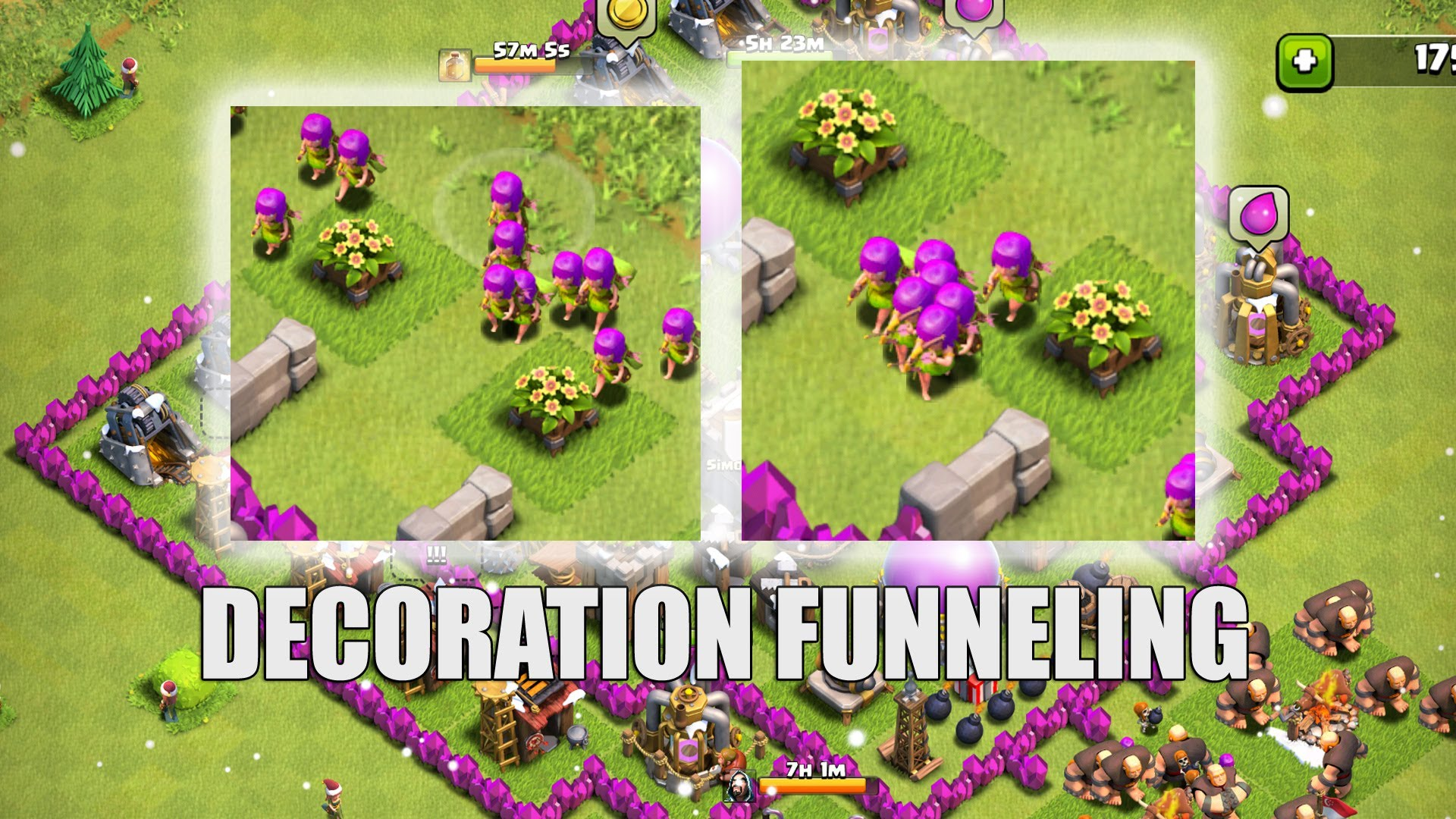 Clash of Clans Decorations 2016
