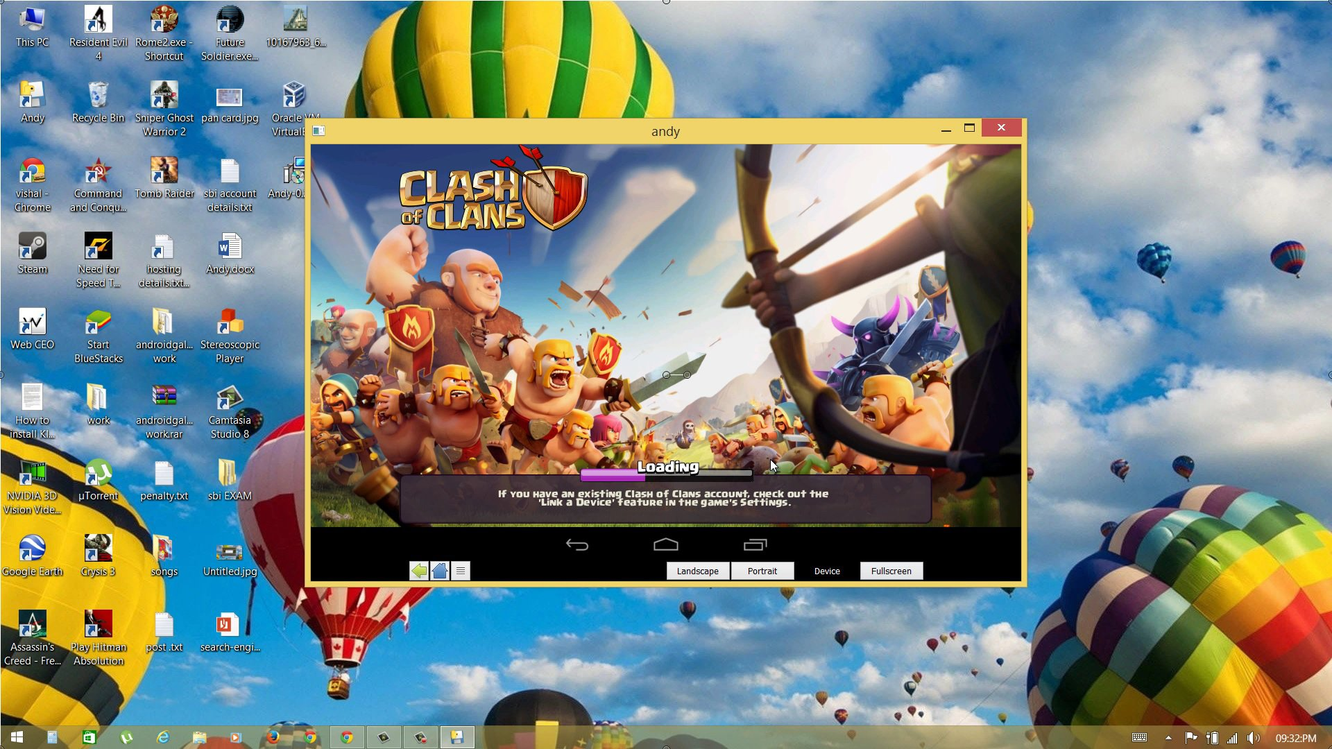 clash of clans online spielen pc