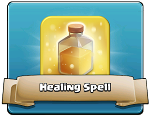 Clash of Clans Healing spell