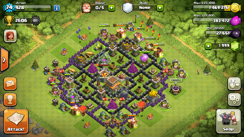Clash of Clans TH8 Crystal League Strategy