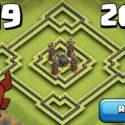 Unbeatable Clash of Clans TH9 Trophy Base