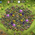 Best Clash of Clans Th9 Farming Base