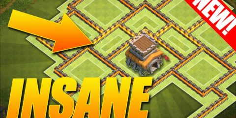 Clash of Clans Town Hall 8 Best Trophy Base 2016