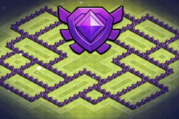 Clash of Clans Town Hall 8 Crystal League