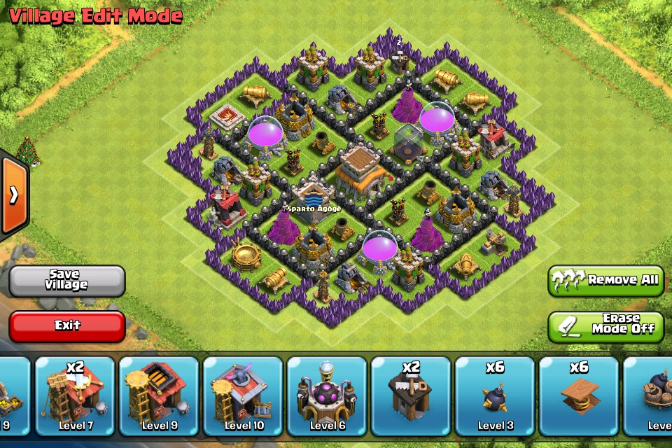 Clash of Clans Town Hall 8 Hybrid Base