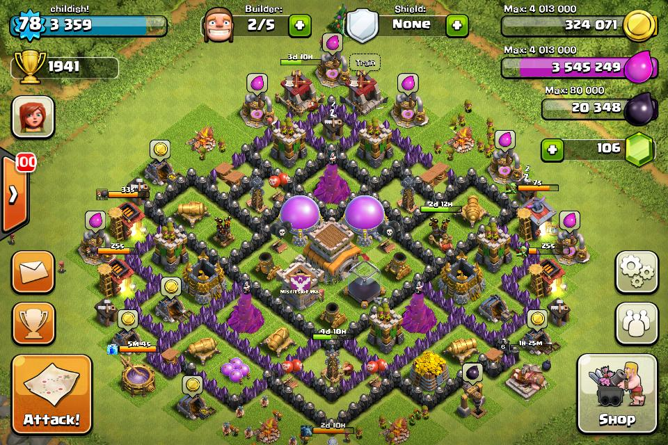 Clash Of Clans Base Guide Th8
