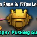 Clash of Clans Farming in Titan league
