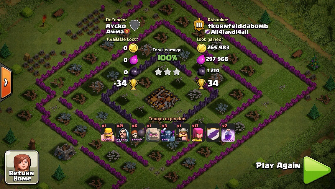 GoWiPe Attack Town Hall 8 Strategy