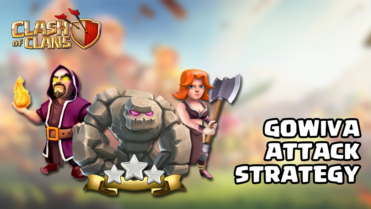 GoWiVa Attack Town Hall 8 Strategy