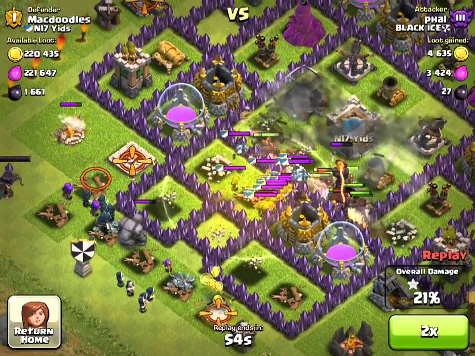 Healing Spell Clash of Clans