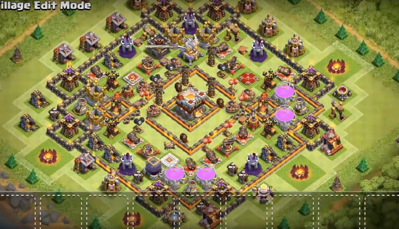 Town Hall 11 Farming & Trophy Base