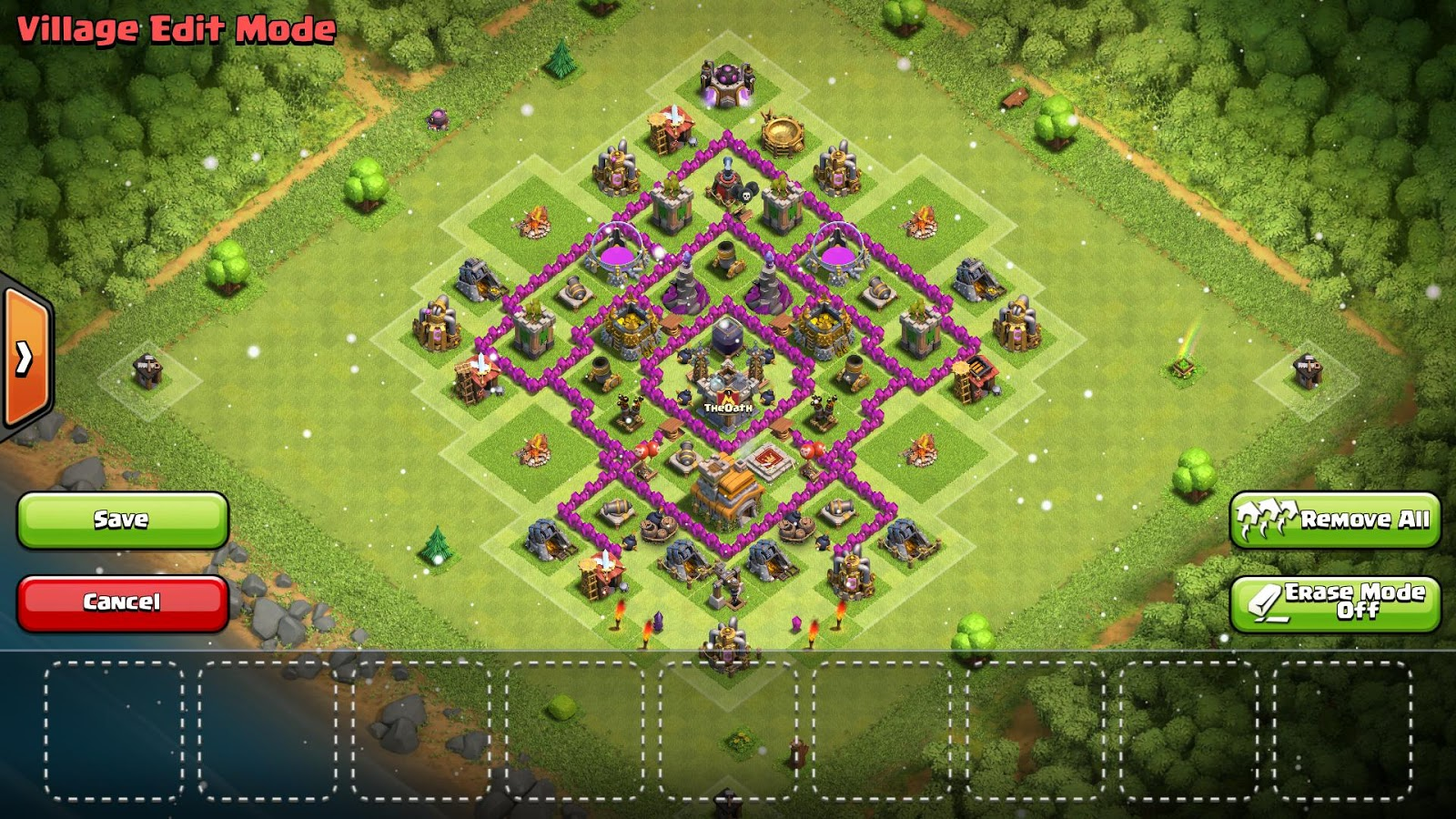 Home Design Cheats Android Best Clash Of Clans Town Hall 7 Hybrid Base Layouts