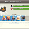 Clash of Clans Town Hall 8 Army Composition