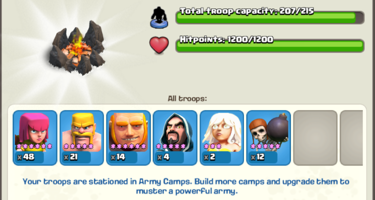 Town Hall 8 Army Composition