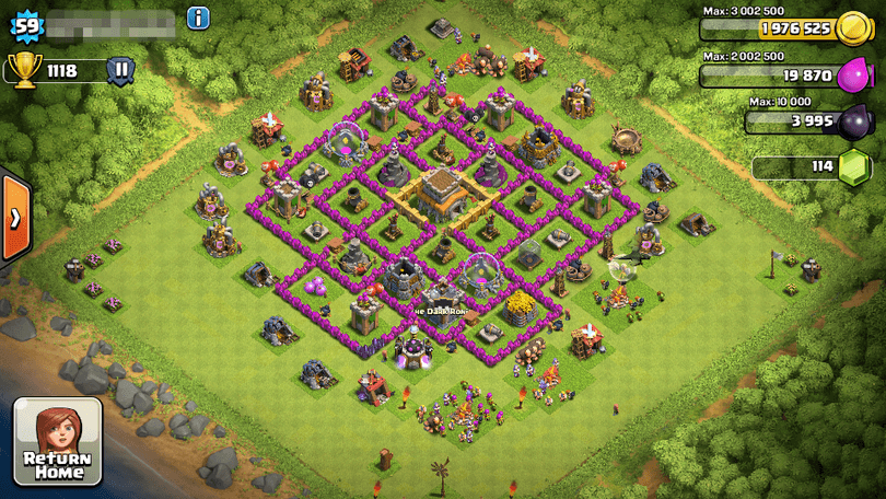Town Hall 8 Best Trophy Base 2016