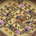 Clash of Clans Anti Bowler Base TH10
