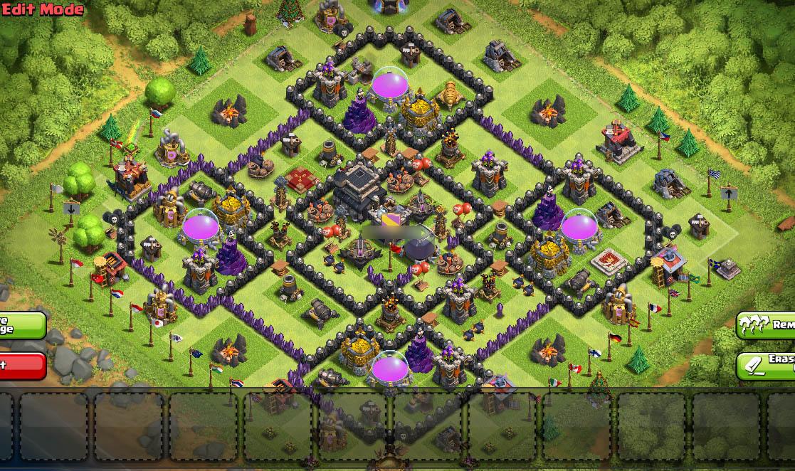 th9 best war base anti everything