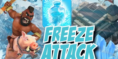 Clash of Clans Freeze Spell