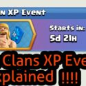 What You Will Get in Clash of Clans 3X Clan XP Event 2017