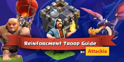 Clash of Clans Best Reinforcement Troops