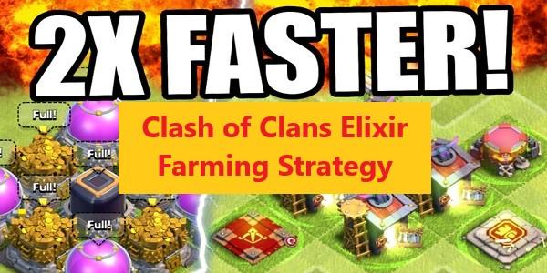 Clash of Clans Elixir Farming Strategy