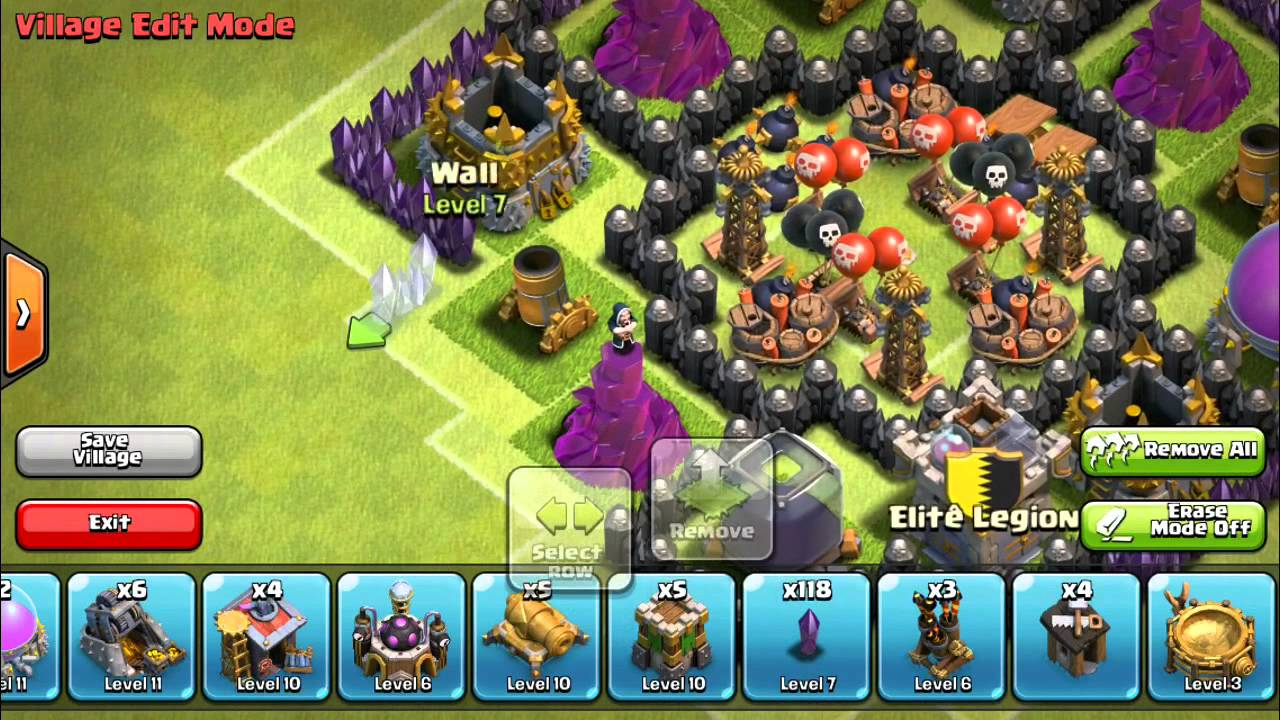 death traps in clash of clans
