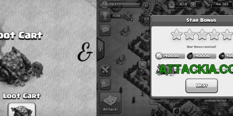 Loot Cart and Daily Star bonus Clash of Clans