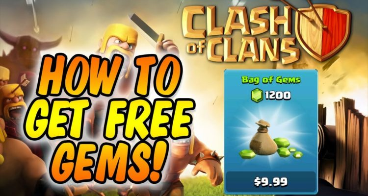 Free gem giveaways clash of clans