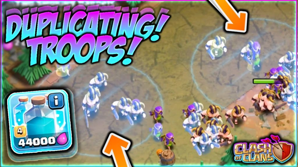 Clone Spell Clash of Clans