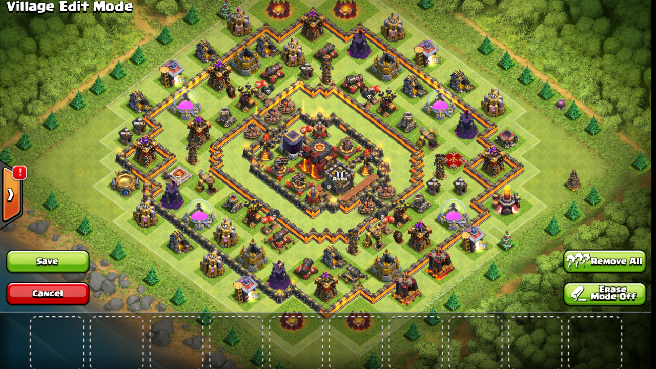 Clash of Clans Anti Valkyrie Base