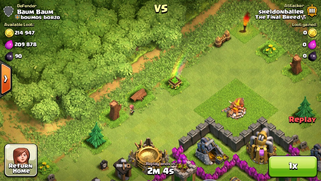 Clash of Clans Base Glitch
