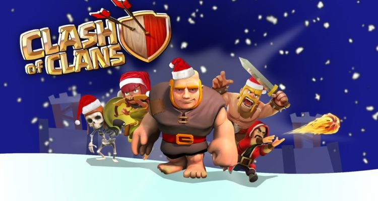Clash-of-Clans-Christmas-Wallpaper