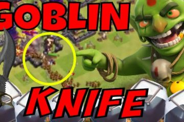 Clash of Clans Goblin Knife