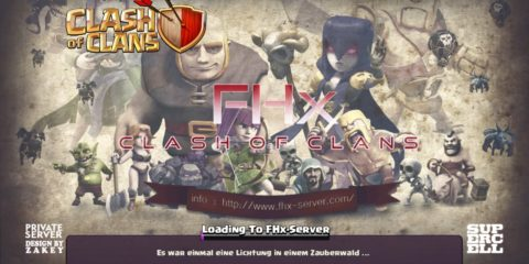Clash of Clans Private Server Bluestacks