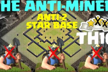 Clash of Clans TH10 Anti Miner Base