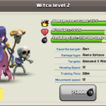 Dark Elixir Troop Witch in Clash of Clans