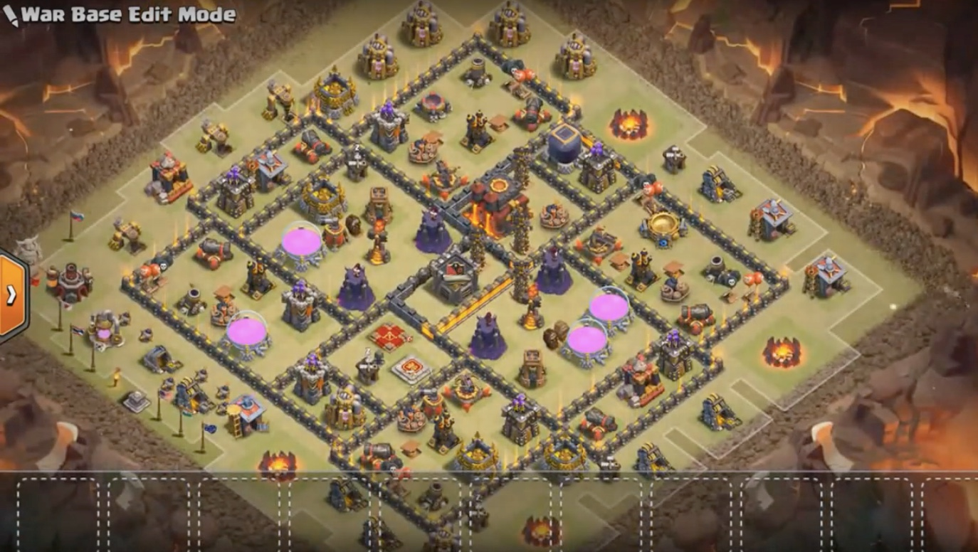 TH10 War Base Anti Everything