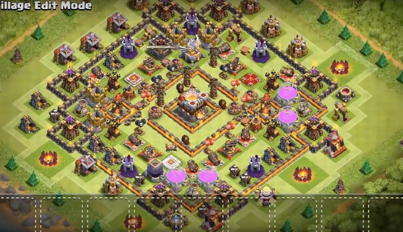 Town Hall 11 Farming & Trophy Base