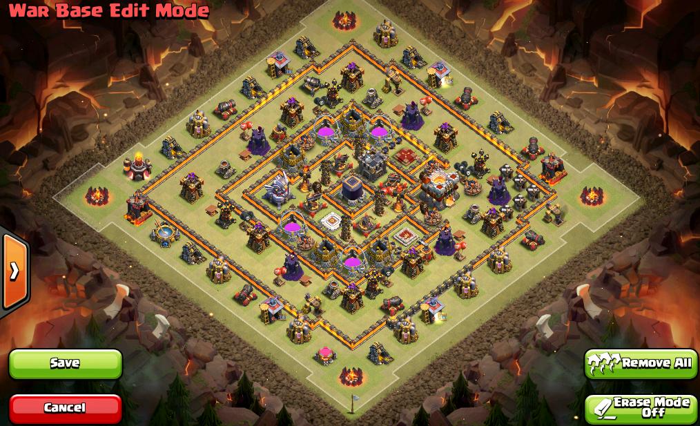 Town Hall 11 War Base