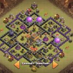Clash of Clans Town Hall 8 Anti Hog Base