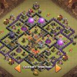 Town Hall 8 Anti Hog Base